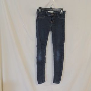 ABERCROMBIE KIDS GIRLS SKINNY STRETCH JEANS sz 14